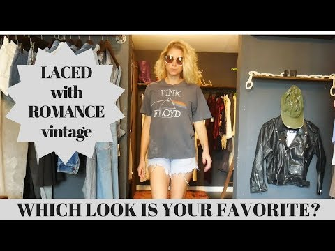 MY FAVORITE VINTAGE LOOKS AT LACED WITH ROMANCE!