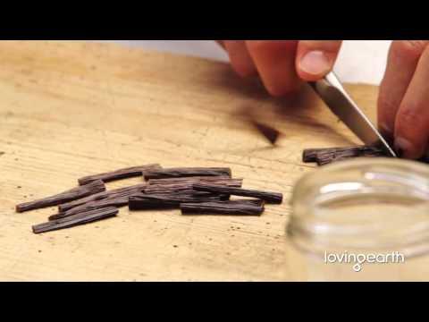 Raw Organic DIY (2 ingredient) Vanilla Extract and Essence