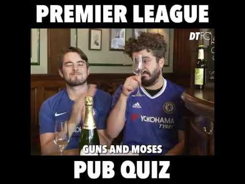 Premier League Pub quiz
