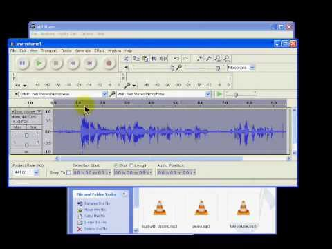 MP3GAin finding volume of your MP3 files