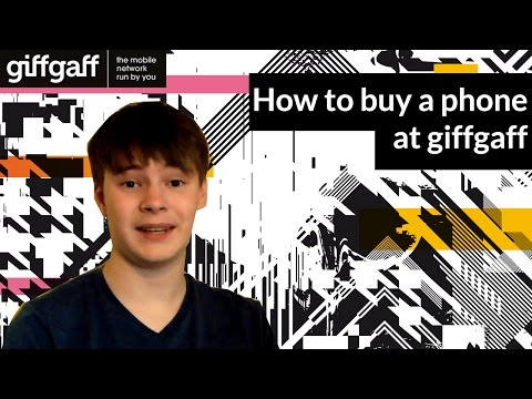 How to buy a phone | tutorial | giffgaff