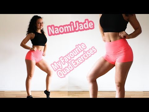 My Favourite Quad Exercises! How to build and isolate your Quads - bodyweight workout!