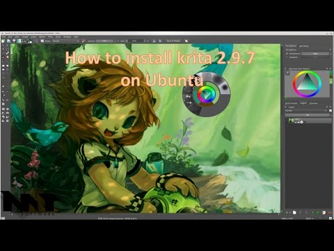 How to install krita 2.9.7 on Ubuntu 14.04,15.04,16.04,17.04