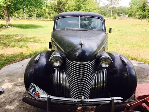 1940 Cadillac Limousine Turning Over