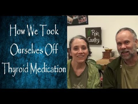 How We Took Ourselves Off Thyroid Medication