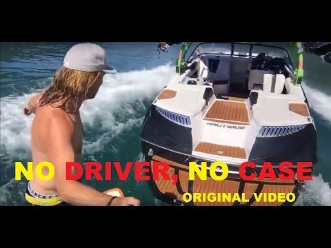 Wakesurf, No driver, no Watercase