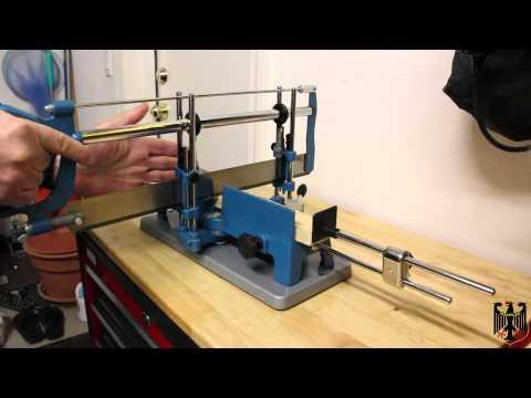 Kupper Perfekt Mitre Saw - Cutting Procedure and Examples