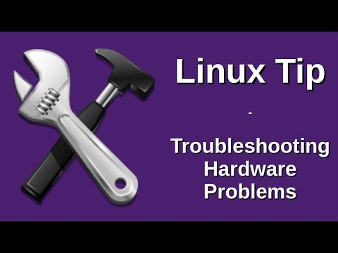 Linux Tip | Troubleshooting Hardware Problems