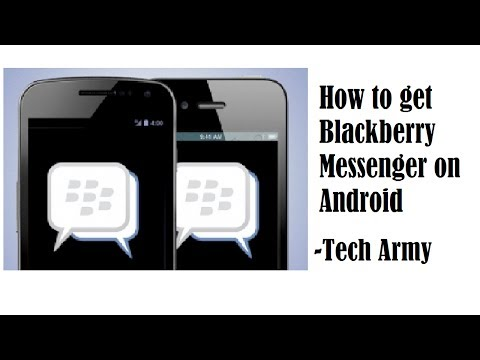 How to get BBM on Android