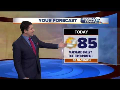 Wednesday midmorning forecast