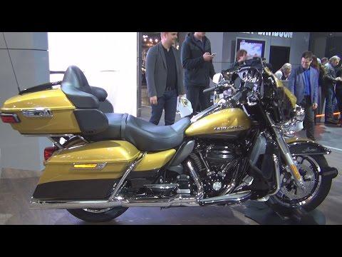 Harley-Davidson Ultra Limited FLHTK (2017) Exterior and Interior in 3D