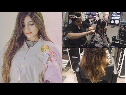 Long hair to LOB haircut transformation! | Anushae Says