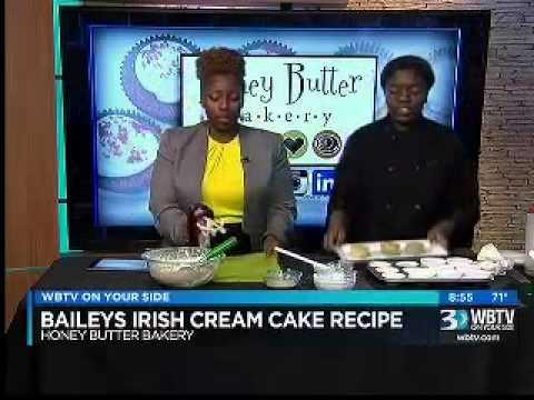 How To BAILEYS IRISH Cream Cake