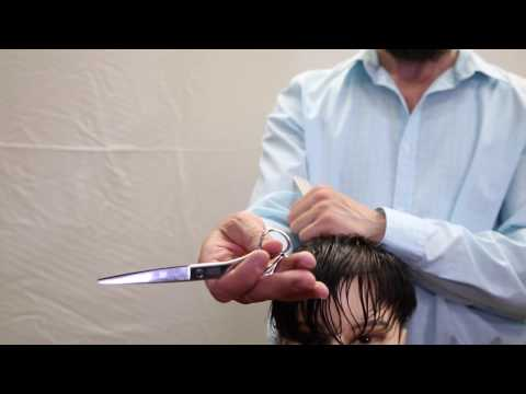 How to Palm Hair Cutting Scissors