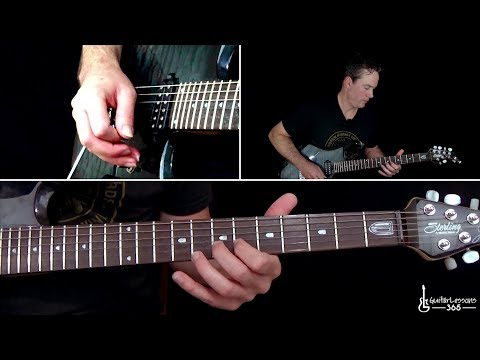 Billy Idol - Dancing with Myself Guitar Lesson