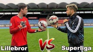 LILLEBROR VS SUPERLIGASPILLER! HVEM VINDER?