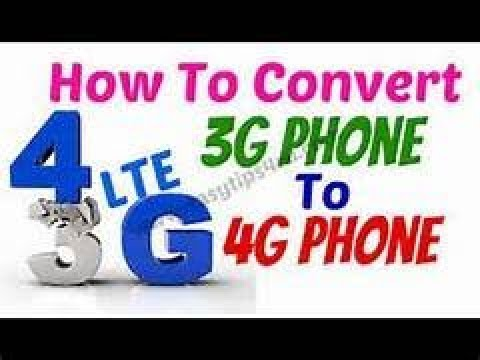 How to convert 2g Internet into 3g in Hindi