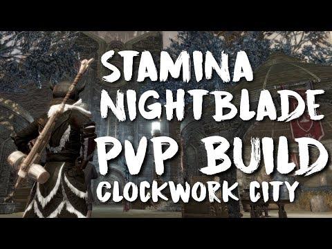 ESO - Stamina Nightblade PvP Build (Clockwork City Update)