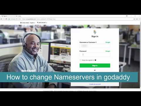 How to Change GoDaddy Domain Name Servers