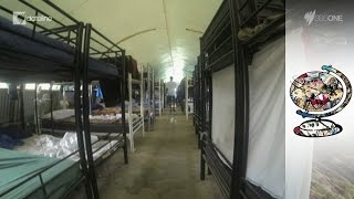 Exposing Hellish Conditions At Manus And Nauru Detention Centres (2014)