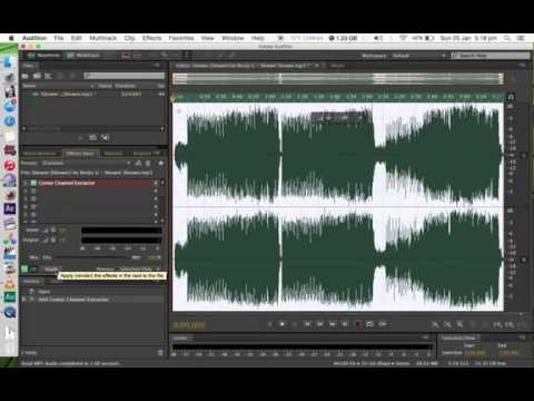 How To Remove Vocals From Any Song/ Make Karaoke (EASY)(2016)!