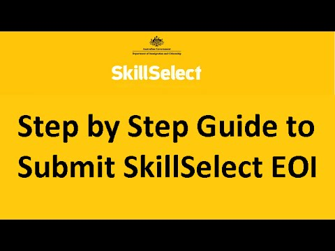 Step by Step Guide to Submit SkillSelect EOI for Australian Immigration