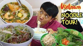 BEST Pho! TRADITIONAL Noodle Tour of Saigon Vietnam