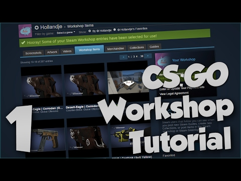How to make your own Weapon Skins for CS:GO - Part 1 [The Beginning]