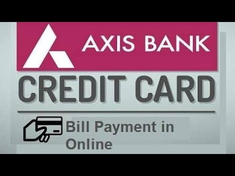 How to pay Axis Bank credit card bill ||Axis mobile || roy tech||
