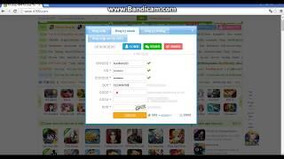 Hướng dẫn đăng kí tài khoản game 4399.com