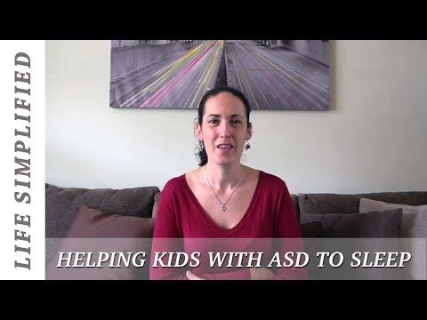 Helping Kids With Autism Spectrum Disorder To Sleep