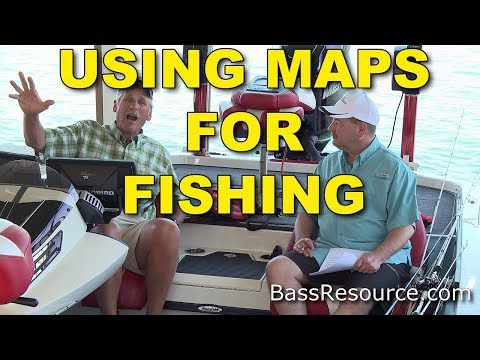 Why Use Maps for Fishing? | Bass Fishing