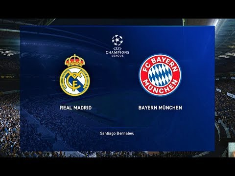 PES 2020 | Real Madrid vs Bayern Munchen | UEFA Champions League 2020 | Gameplay PC