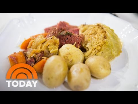 Authentic Irish Corned Beef And Cabbage Recipe For St. Patrick's Day | TODAY