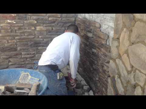Installing Ledge stone veneer