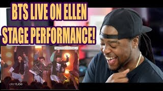 BTS AIRPLANE pt2 LIVE PERFORMANCE COMEBACK | ELLEN SHOW EXCLUSIVE |  REACTION!!! - getplaypk