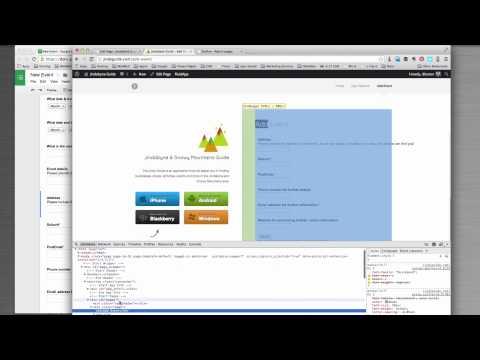 Collecting Google Form data through your Wordpress website