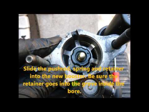 2005 Hummer H2 Hydraulic Brake Booster Replacement