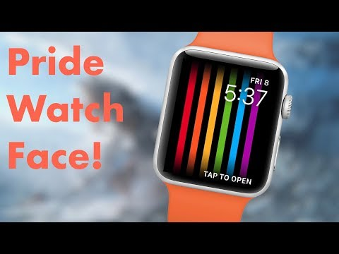 Apple Watch Pride Watch Face! (How to)