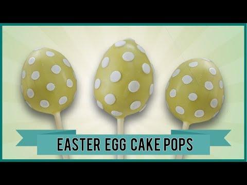 EASTER EGG CAKE POPS I Easter cake pop tutorial for Easter Eggs I Easter Set