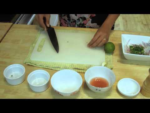 Peruvian Red Onion Salad : Salads & Salad Dressings