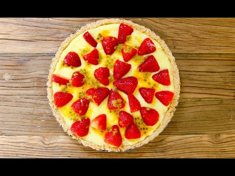 Easy dessert recipe: How to make an easy no-bake fruit tart