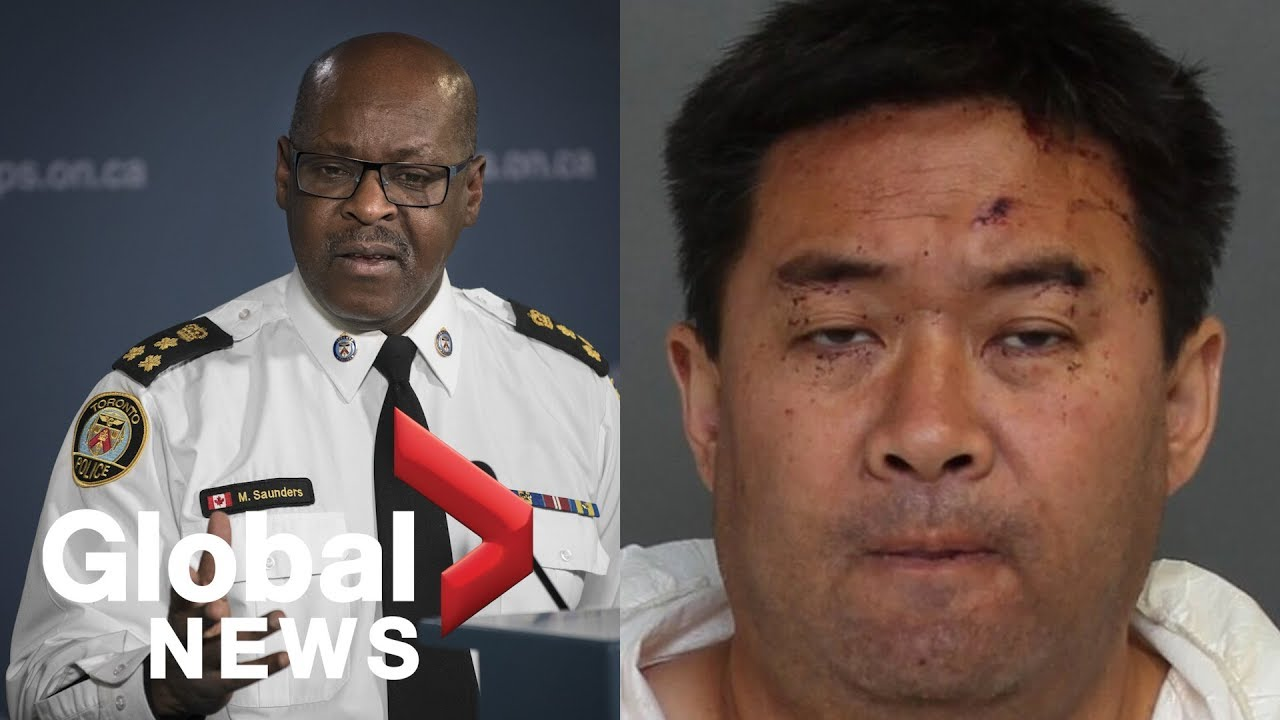 Toronto police chief, reporter in heated exchange of what 'not criminally responsible' means