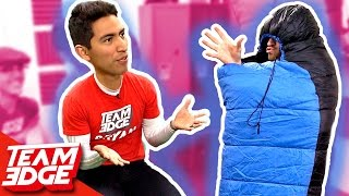 Sleeping Bag Charades Challenge....😳