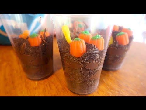 How To Make Pumpkin Patch Halloween Treats! Kids Craft!