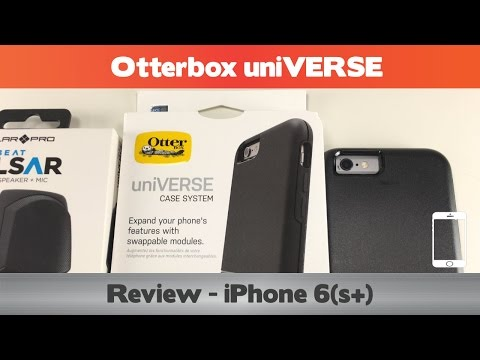 Otterbox uniVERSE Review  - iPhone 6(s+) cases