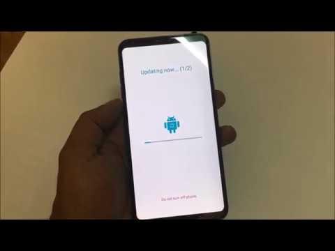 LG V30 oreo 8.0 Software update 2018
