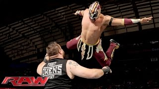 Kalisto vs. Kevin Owens: Raw, October 12, 2015
