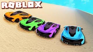 CAR SLIDE RACE TOURNAMENT IN ROBLOX!