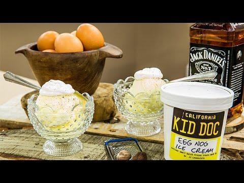 Recipe - Dr. JJ's Eggnog Ice Cream Recipe – Home & Family